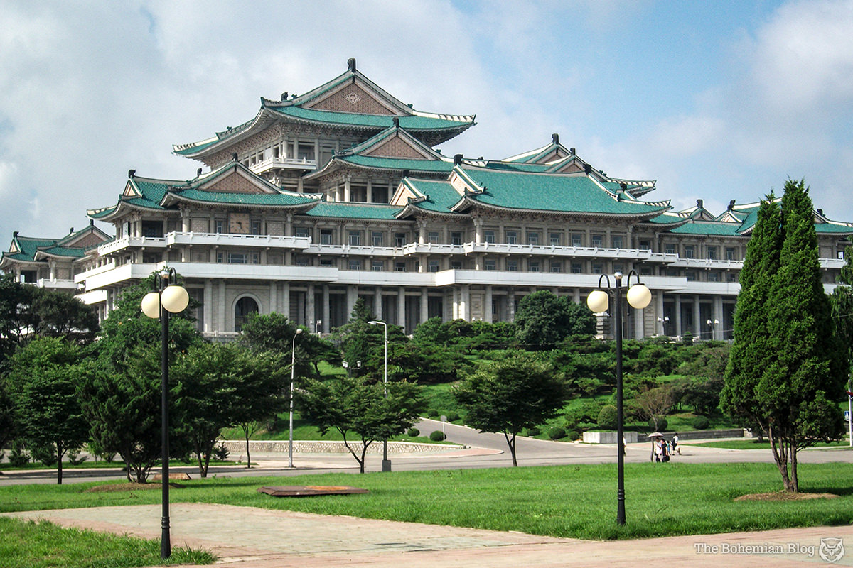 The Grand People's Study House, Pyongyang, DPRK.