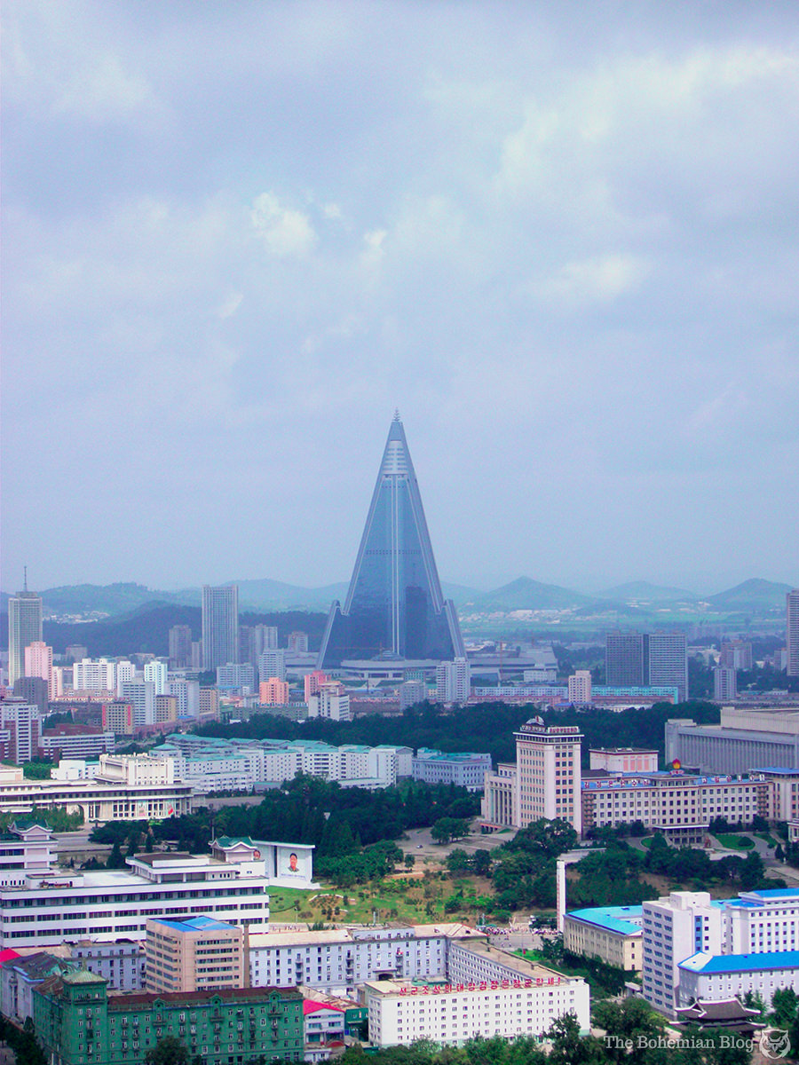 The Ryugyong Hotel. Pyongyang, North Korea.