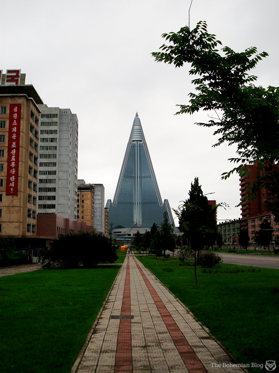 North Korea's Hotel of Doom. Pyongyang, North Korea.
