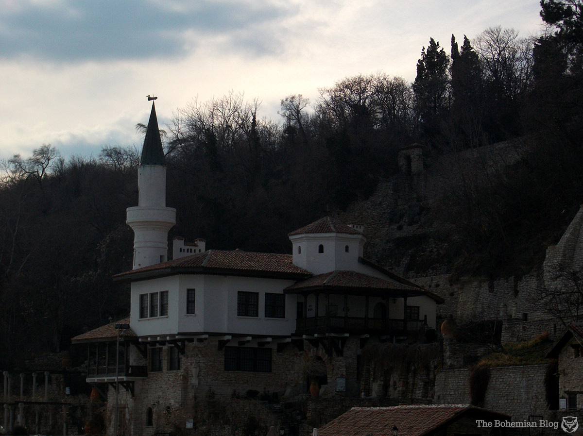Balchik Palace was built from 1926-37 for Queen Marie of Romania.