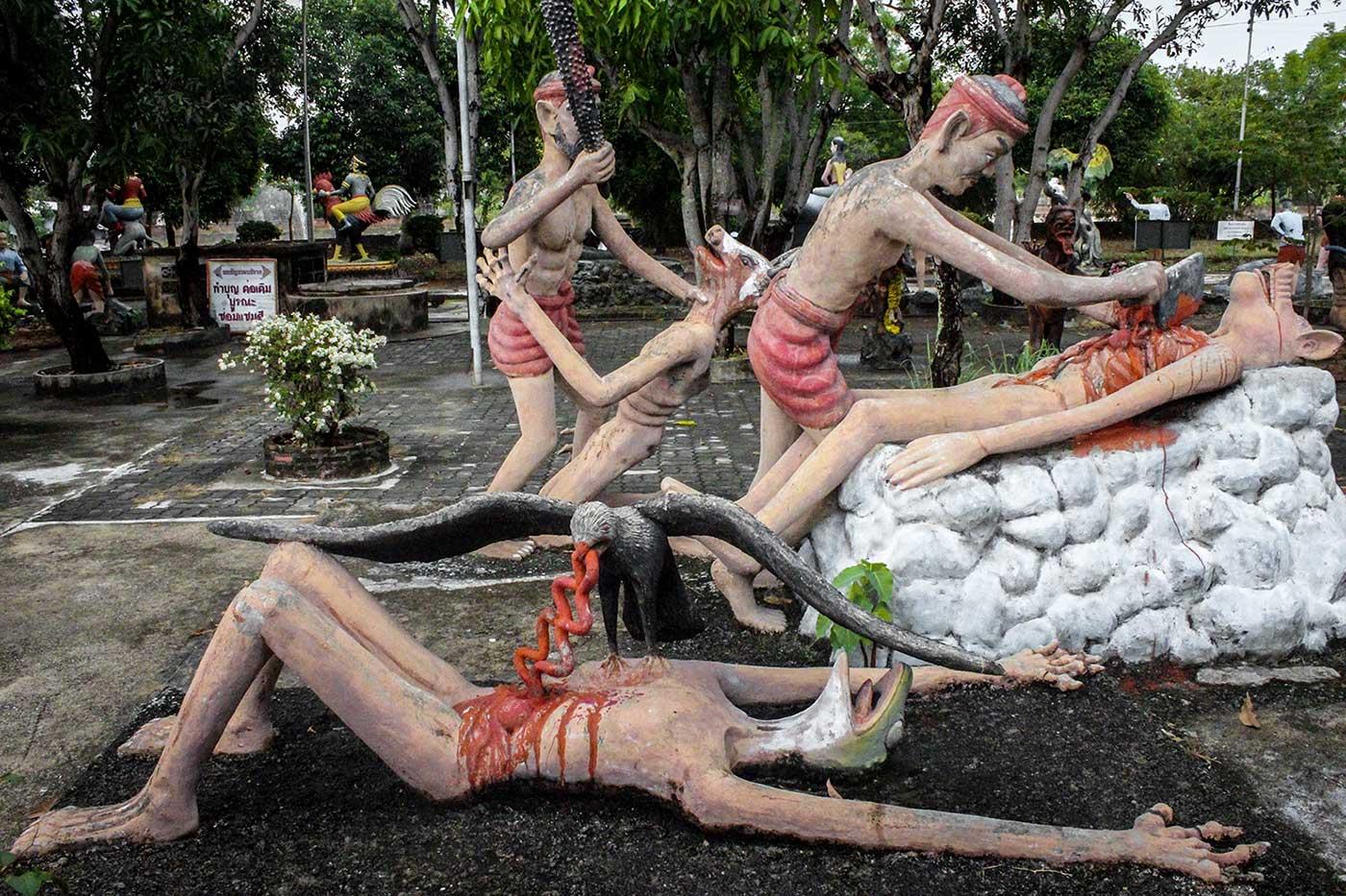 Buddhist Hell Garden - 11-DR