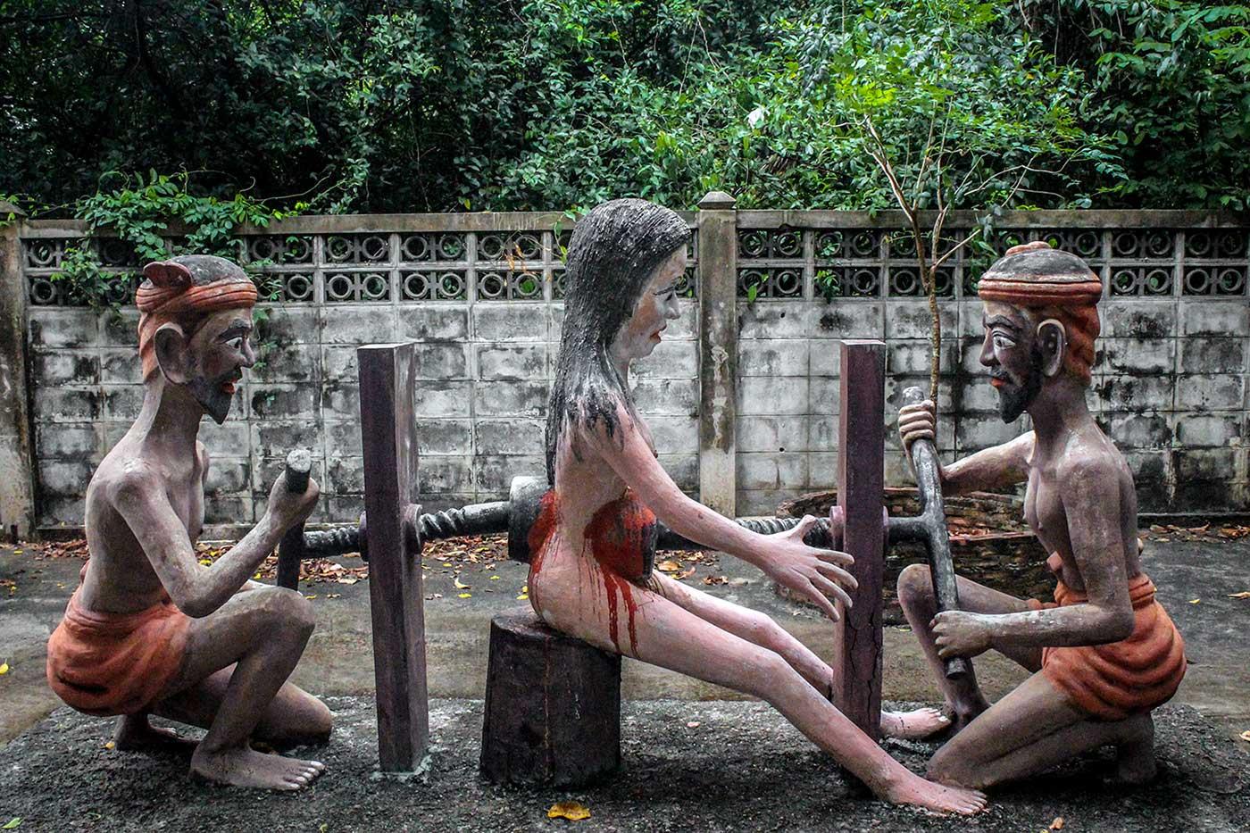 Buddhist Hell Garden - 24-DR
