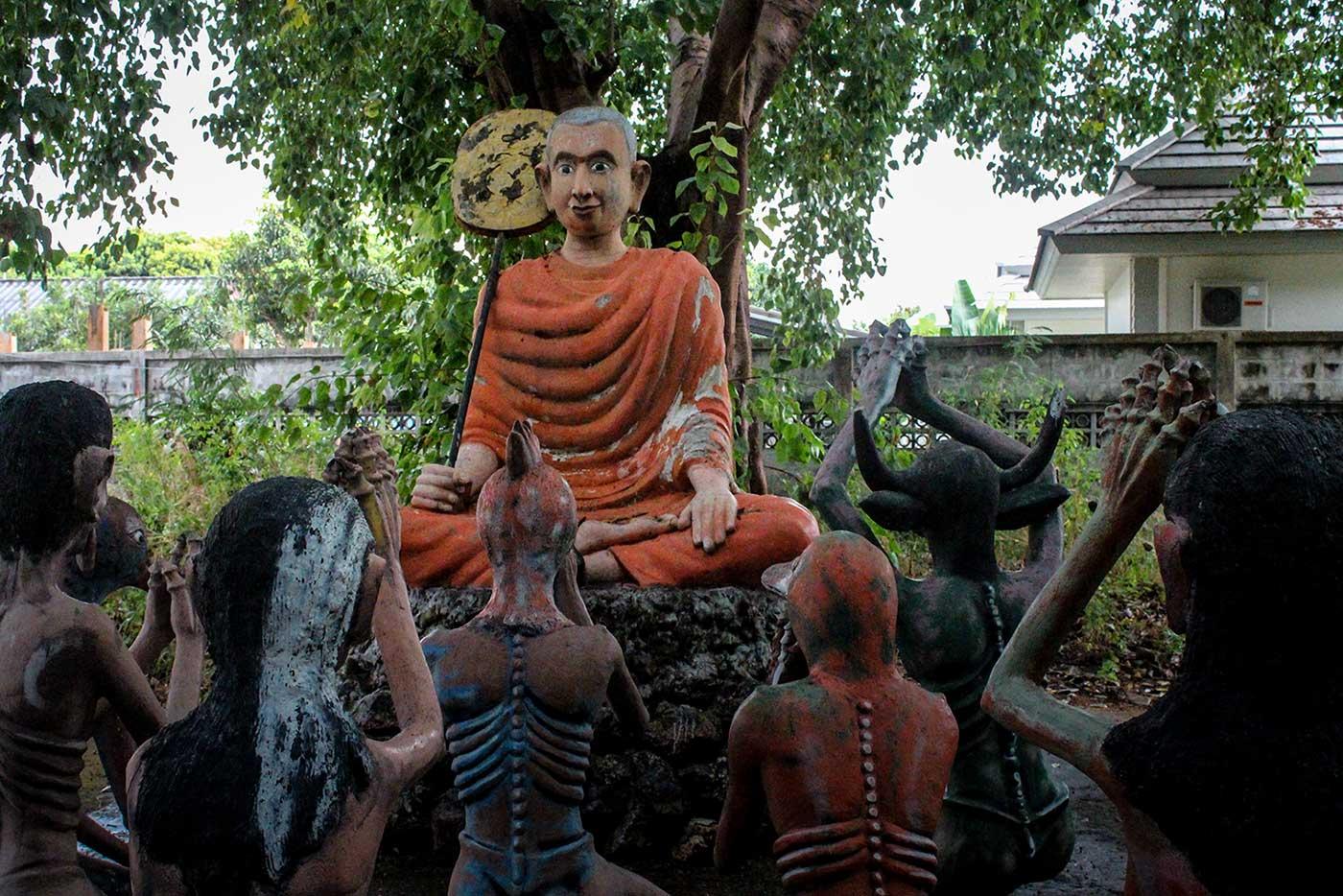 Buddhist Hell Garden - 27-DR