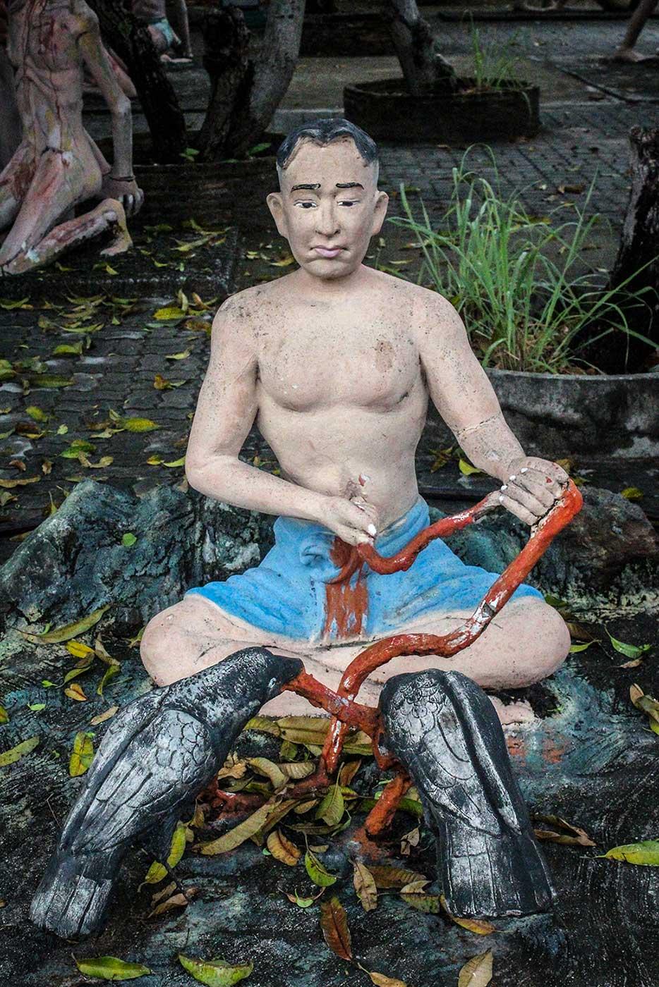 Buddhist Hell Garden - 38-DR