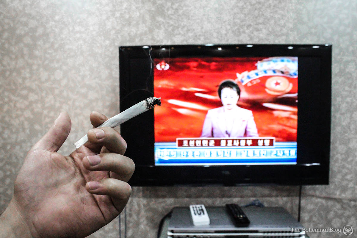 Smoking Weed in North Korea