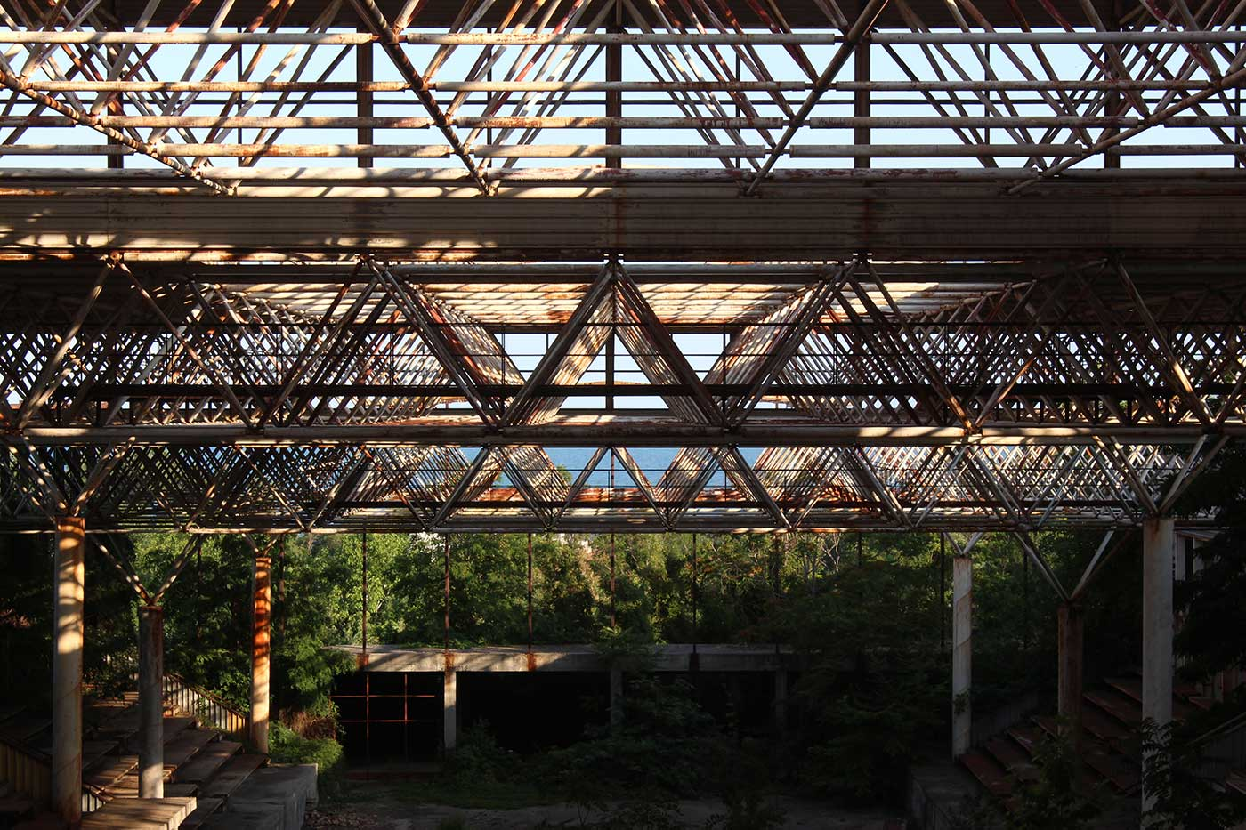Is This Abandoned Sports Hall The Olympic Venue That History Forgot Ex Utopia