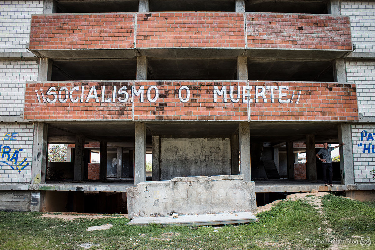 Socialism or Death, in Ciudad Nuclear.