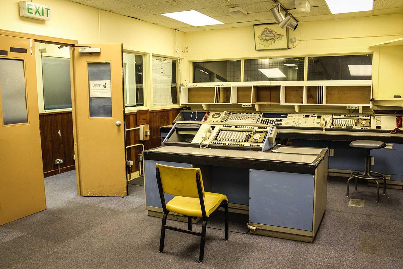 USAF Upper Heyford - 10 Mission Control 12