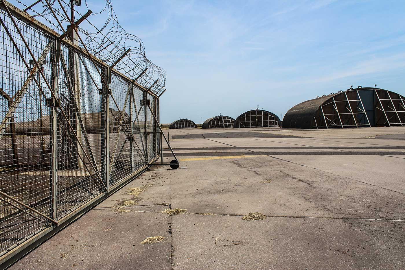 USAF Upper Heyford - 2 Hangar 1