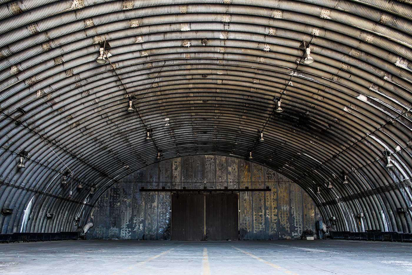 USAF Upper Heyford Hangar