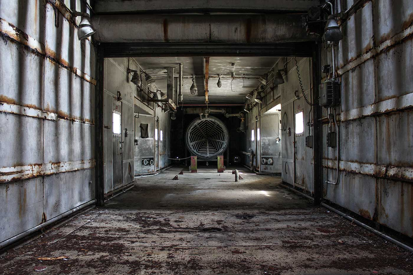 USAF Upper Heyford - 4 Testing Bay 2