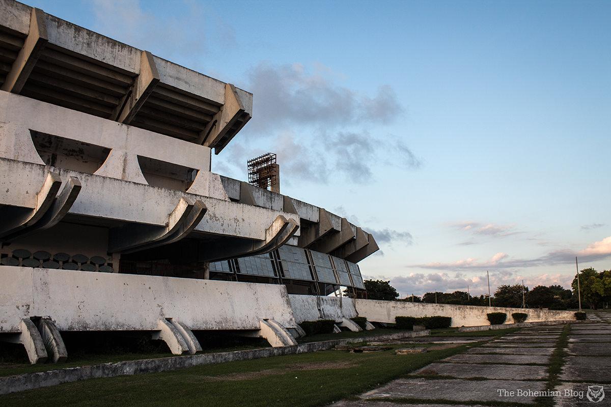 The Estadio Panamericano just outside Havana, Cuba.
