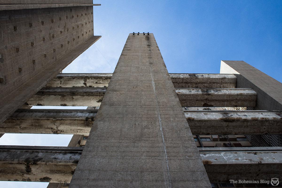 My first taste of Cuban brutalism.