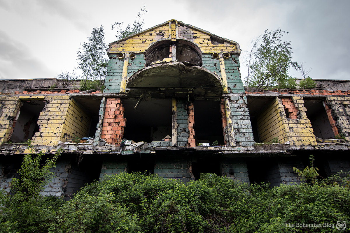The 'Rainbow Hotel': A Sarajevo retirement home, destroyed by war before its first residents ever arrived.