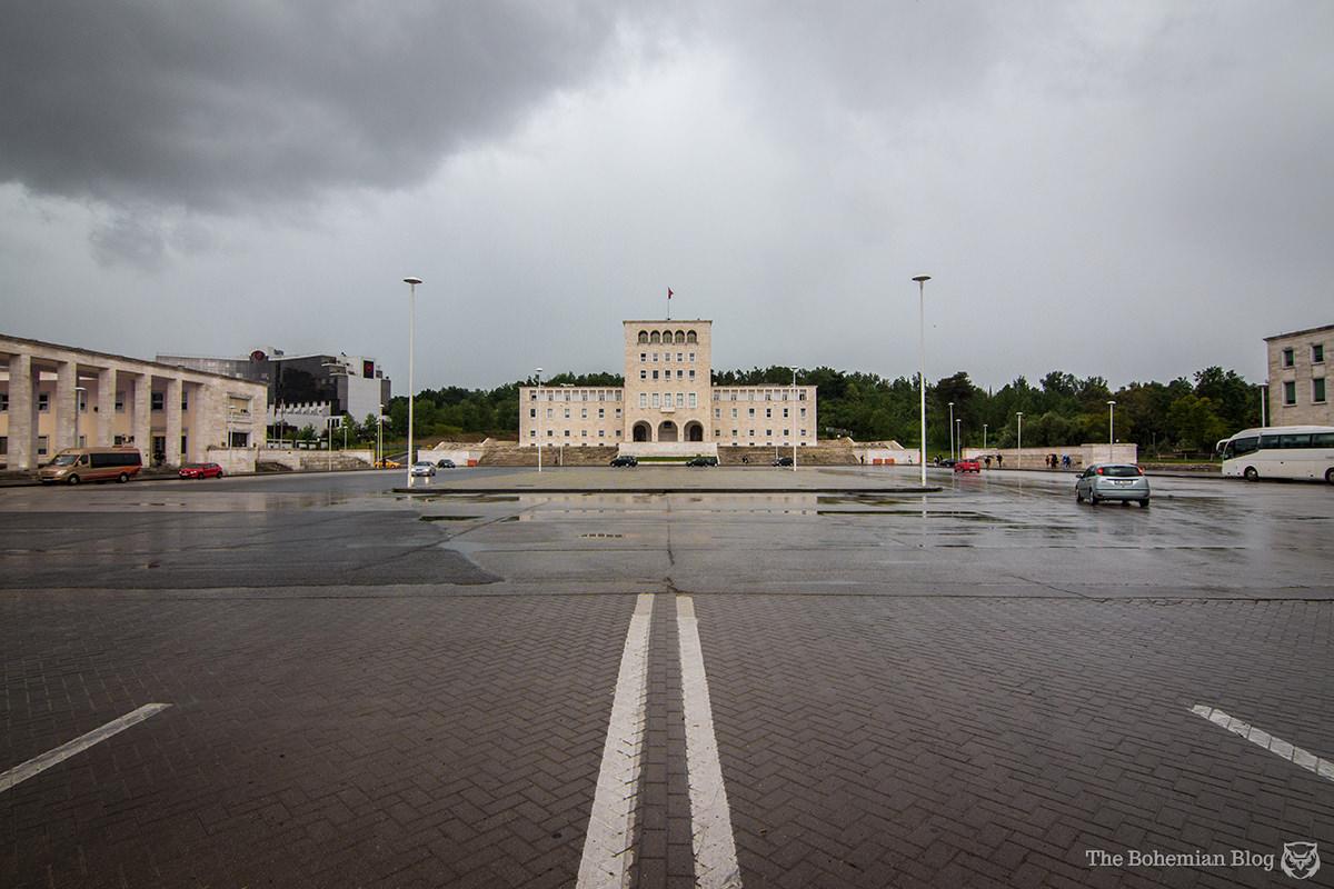 University of Tirana (Gherardo Bosio, 1940). Tirana, Albania.