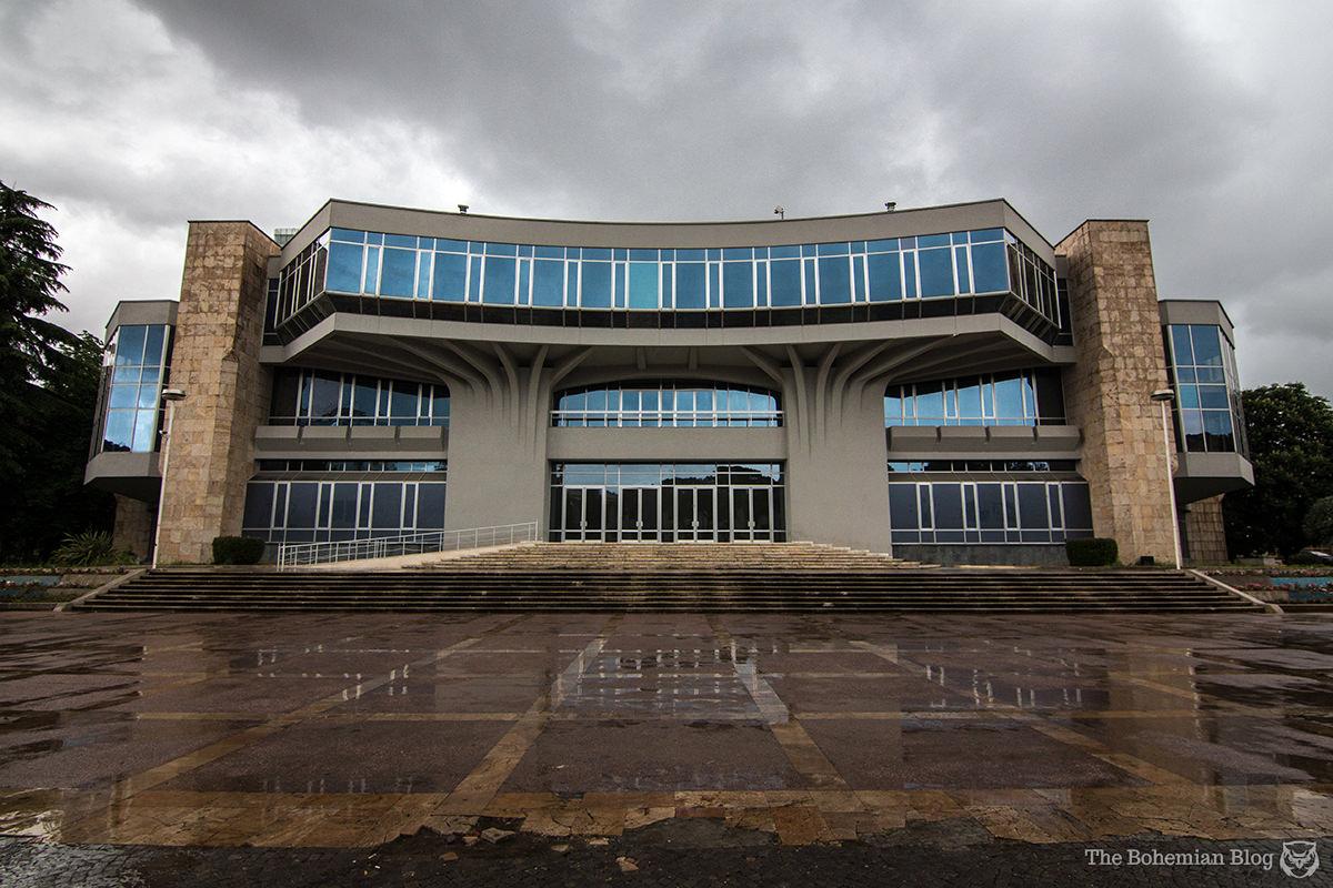 Palace of Congresses (1986). Tirana, Albania.