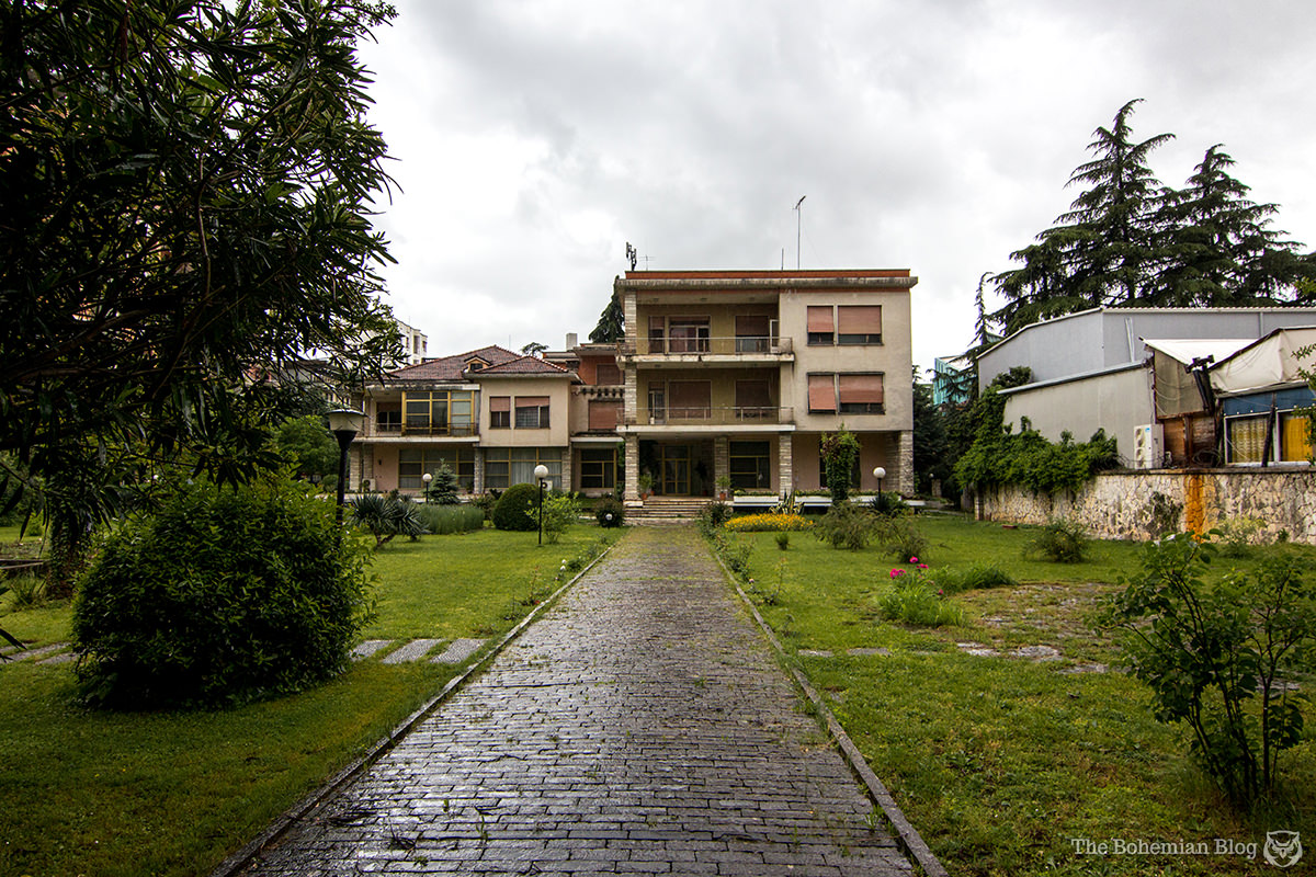 The former home of Enver Hoxha, leader of Communist Albania from 1944 to 1985.