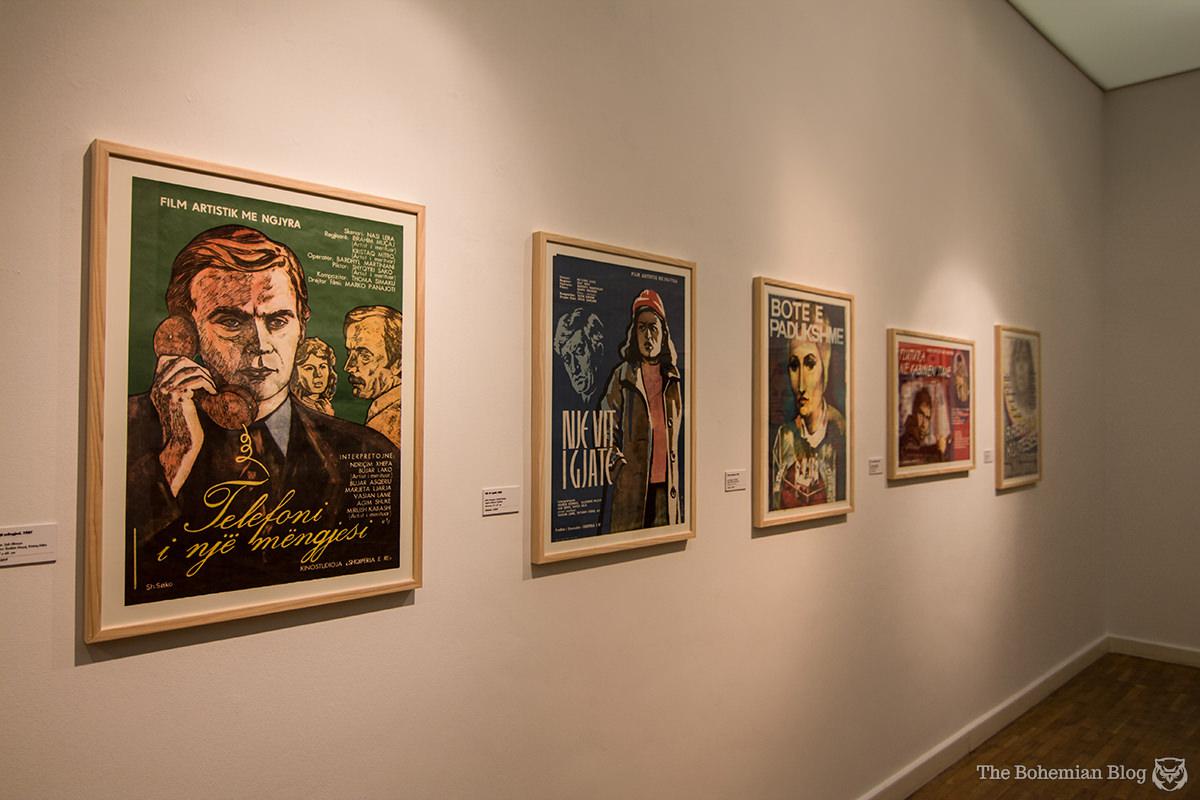 Movie posters of communist Albania.