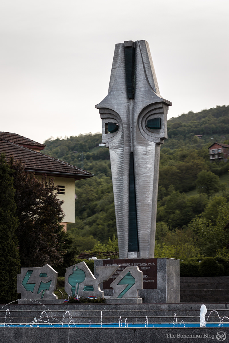 Monument to the Victims of War and the Foča Massacre (Architect and date unknown).
