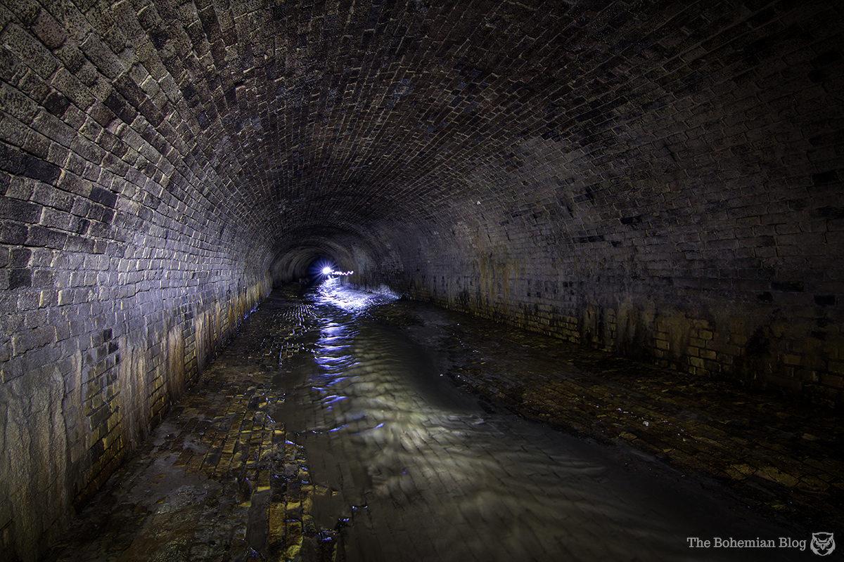 Miles of elegant brickwork direct the Glubochitsa River along its hidden path beneath Kyiv.