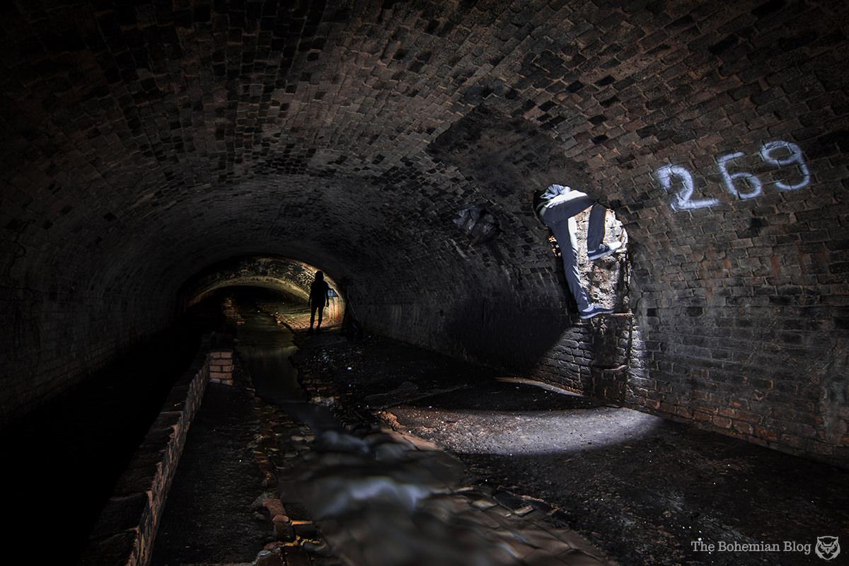 Explorers descend into the secret river under Kyiv, Ukraine.