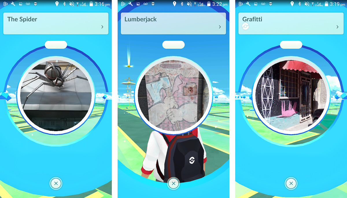 Lesser-known details of the urban environment showcased as playable locations in Pokémon Go. Varna, Bulgaria.