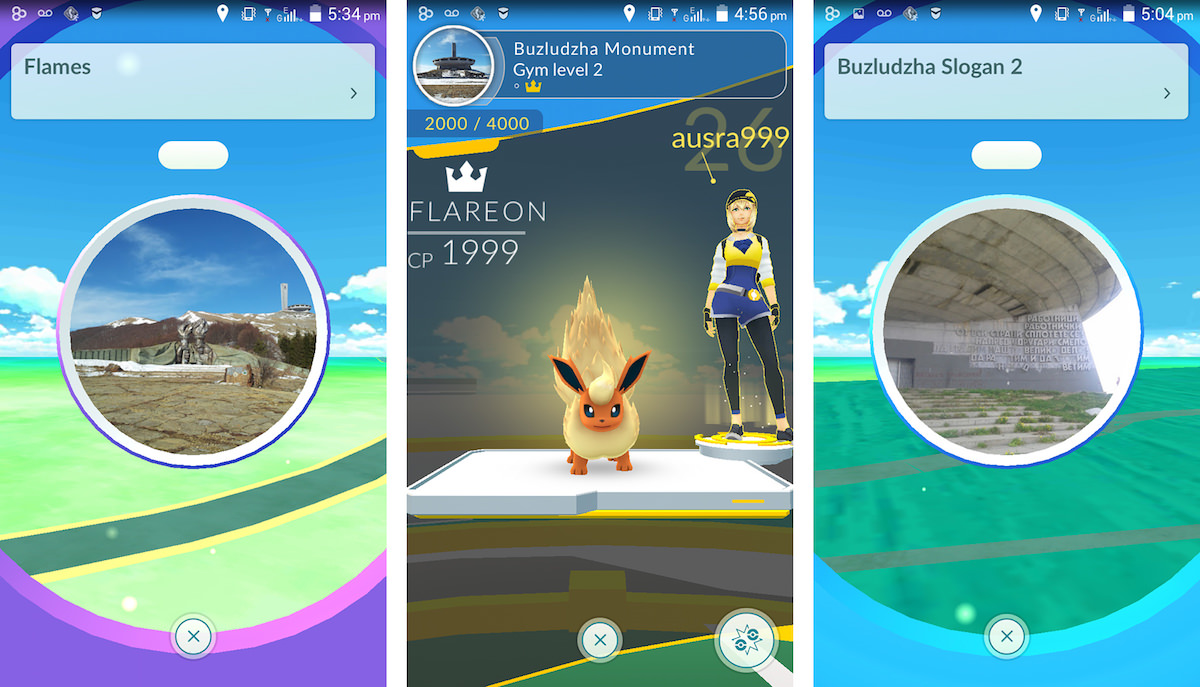 The Buzludzha Monument currently features a total of four playable locations in Pokémon Go.
