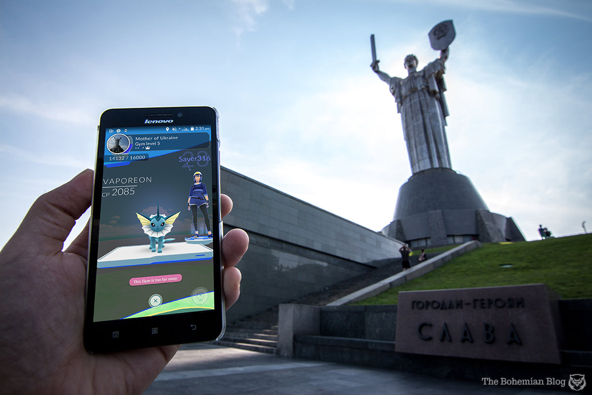 Motherland Monument (Yevgeny Vuchetich & Vasyl Borodai, 1981). Kyiv, Ukraine.