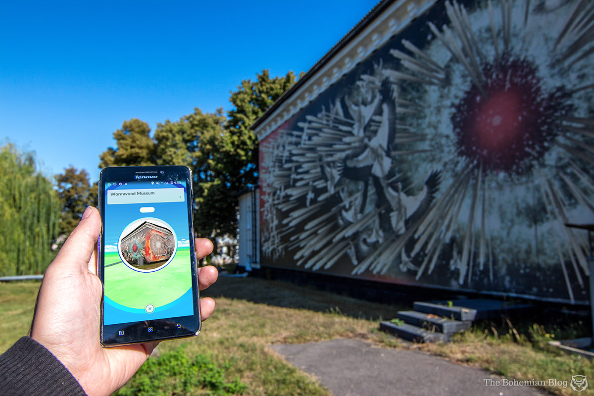 'Wormwood Museum': A memorial complex in Chernobyl,now featuring a pokéstop.