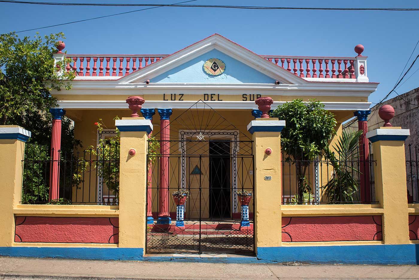 Logia Luz del Sur in Trinidad, Cuba.
