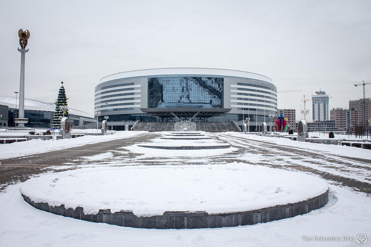 Minsk Arena (Valery Kutsko, Vladimir Budayev, Alexander Nitiyevsky & Anatoly Shabalin, 2010).