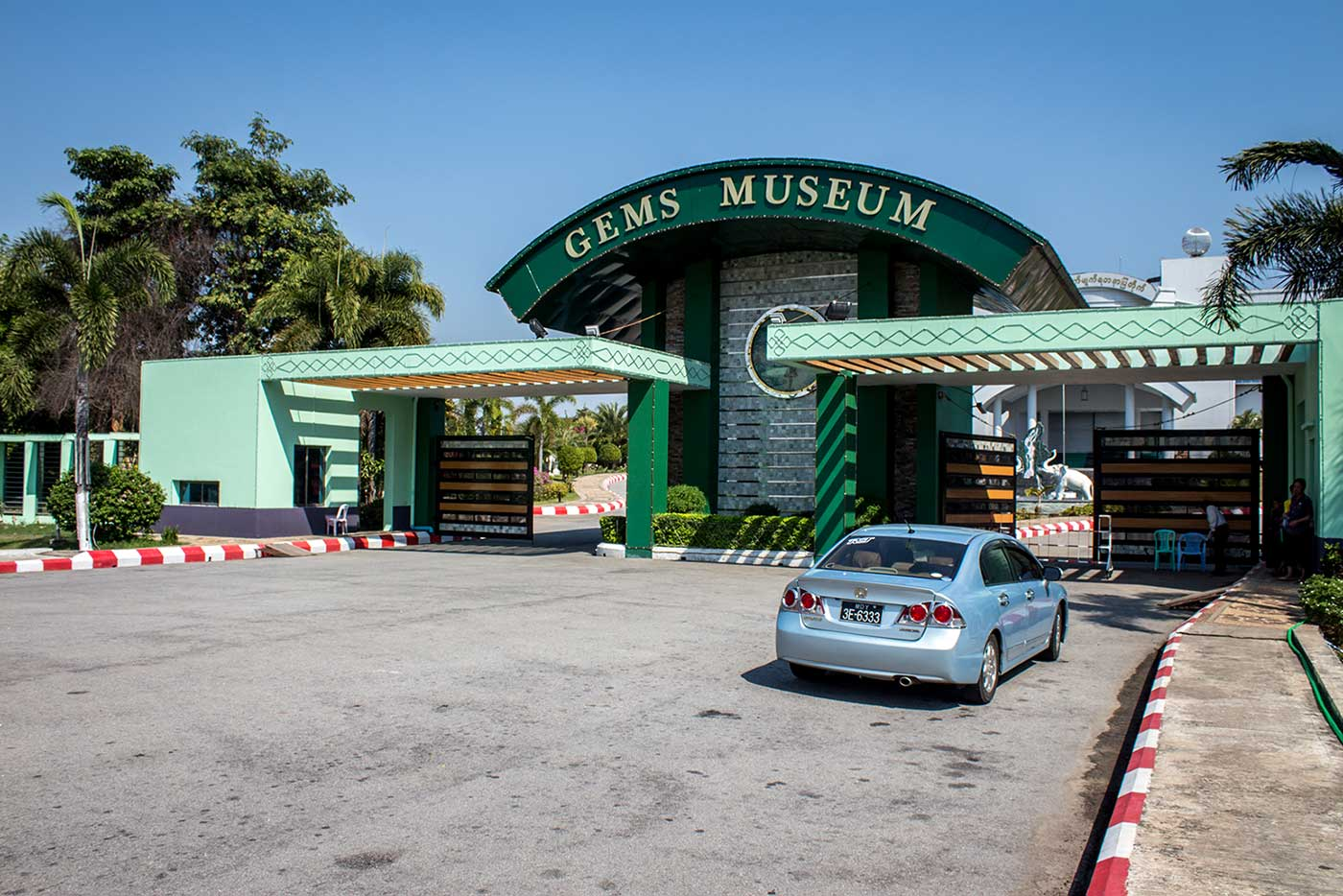 The 'Gems Museum,' located in Zabuthri Township, Naypyidaw.