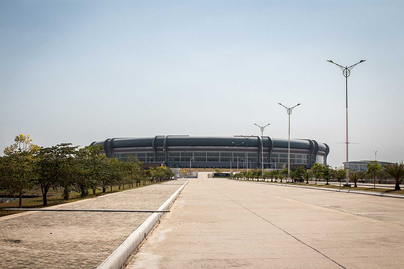 The 30,000-seat Wunna Theikdi Stadium hosted the 2013 SE Asia Games.