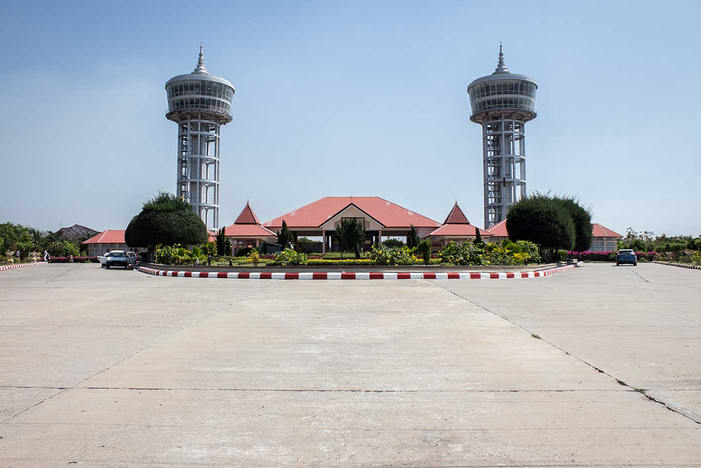 The entrance to the National Landmark Garden in Naypyidaw.