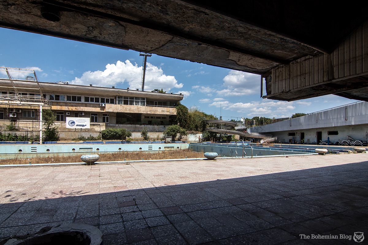 Laguna Vere Aquatic Sports Complex. Tbilisi, Georgia.