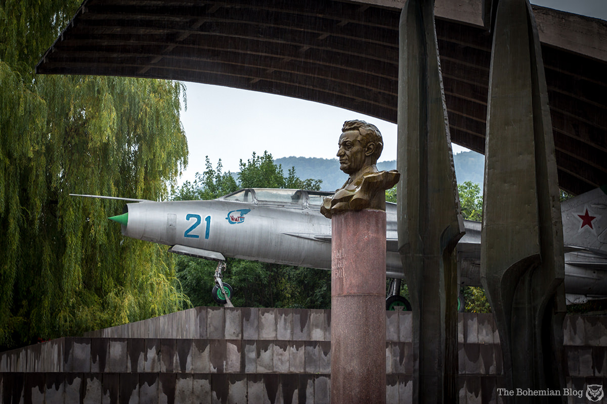 Monument to Artem Mikoyan (1971). Alaverdi, Armenia.