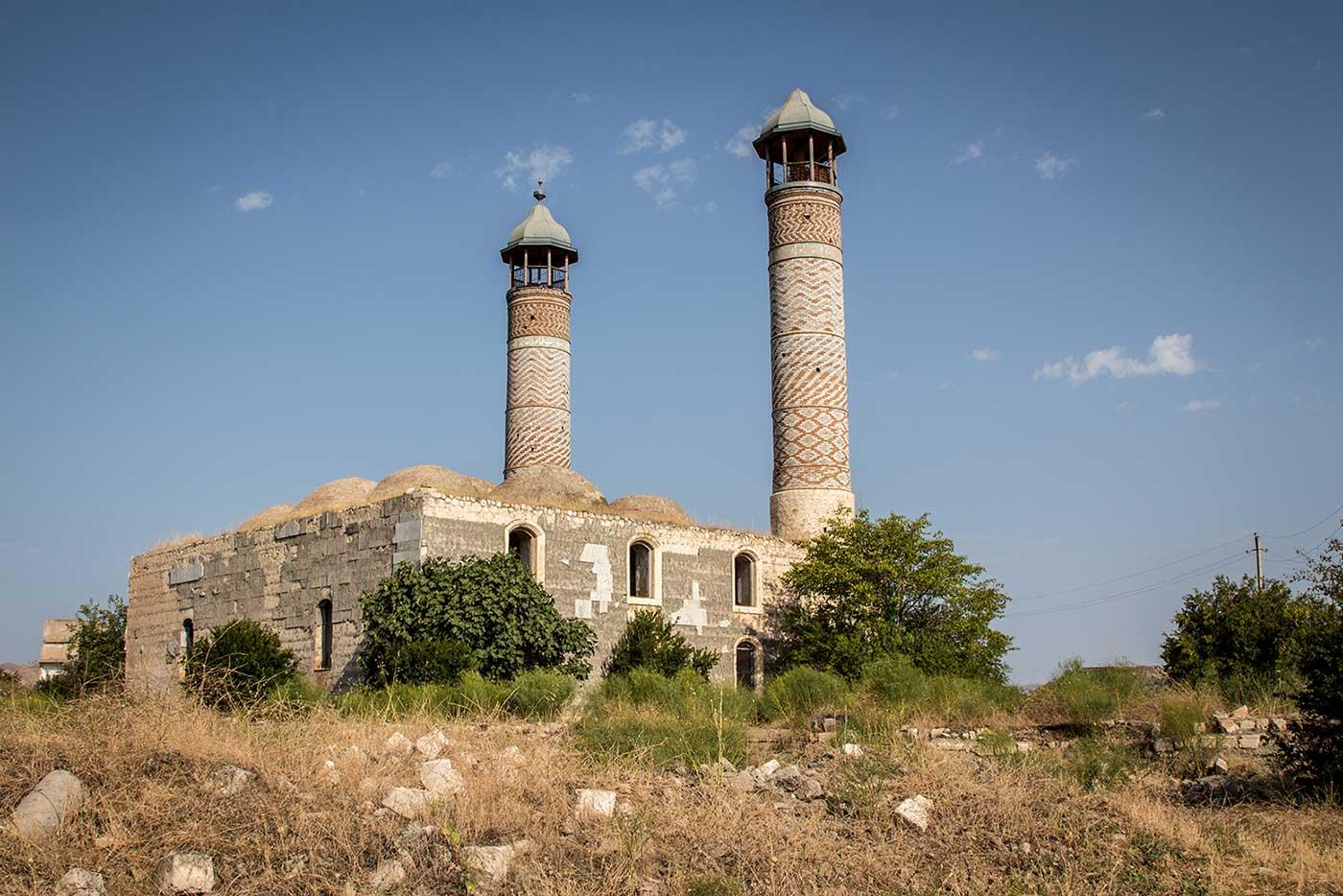 Mosque in Agdam, Nagorno-Karabakh.