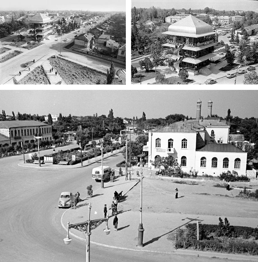 Agdam in its heyday. Nagorno-Karabakh.