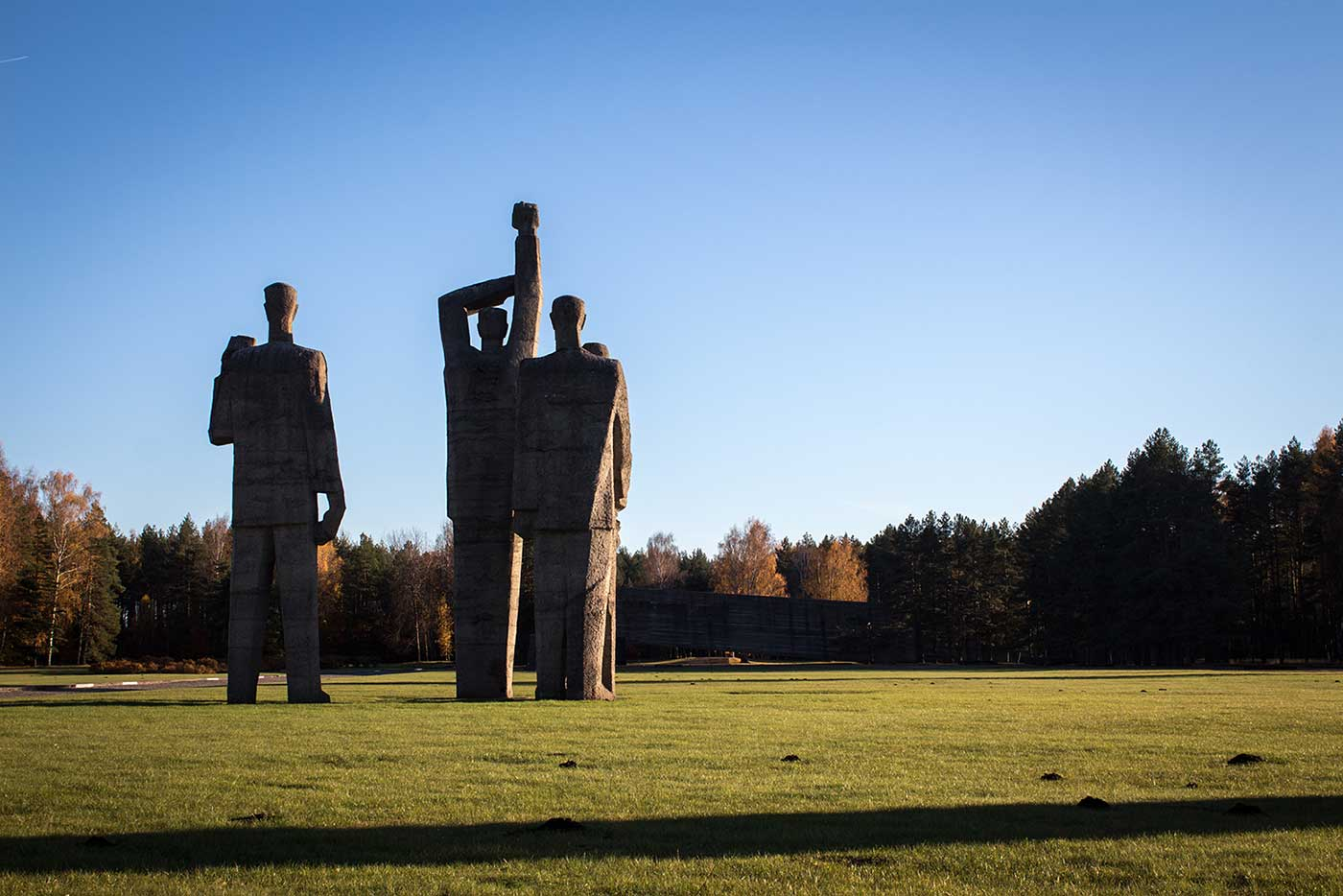 Salaspils Memorial Park, Latvia.
