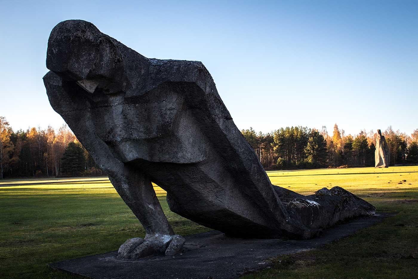 Salaspils Memorial, Latvia.