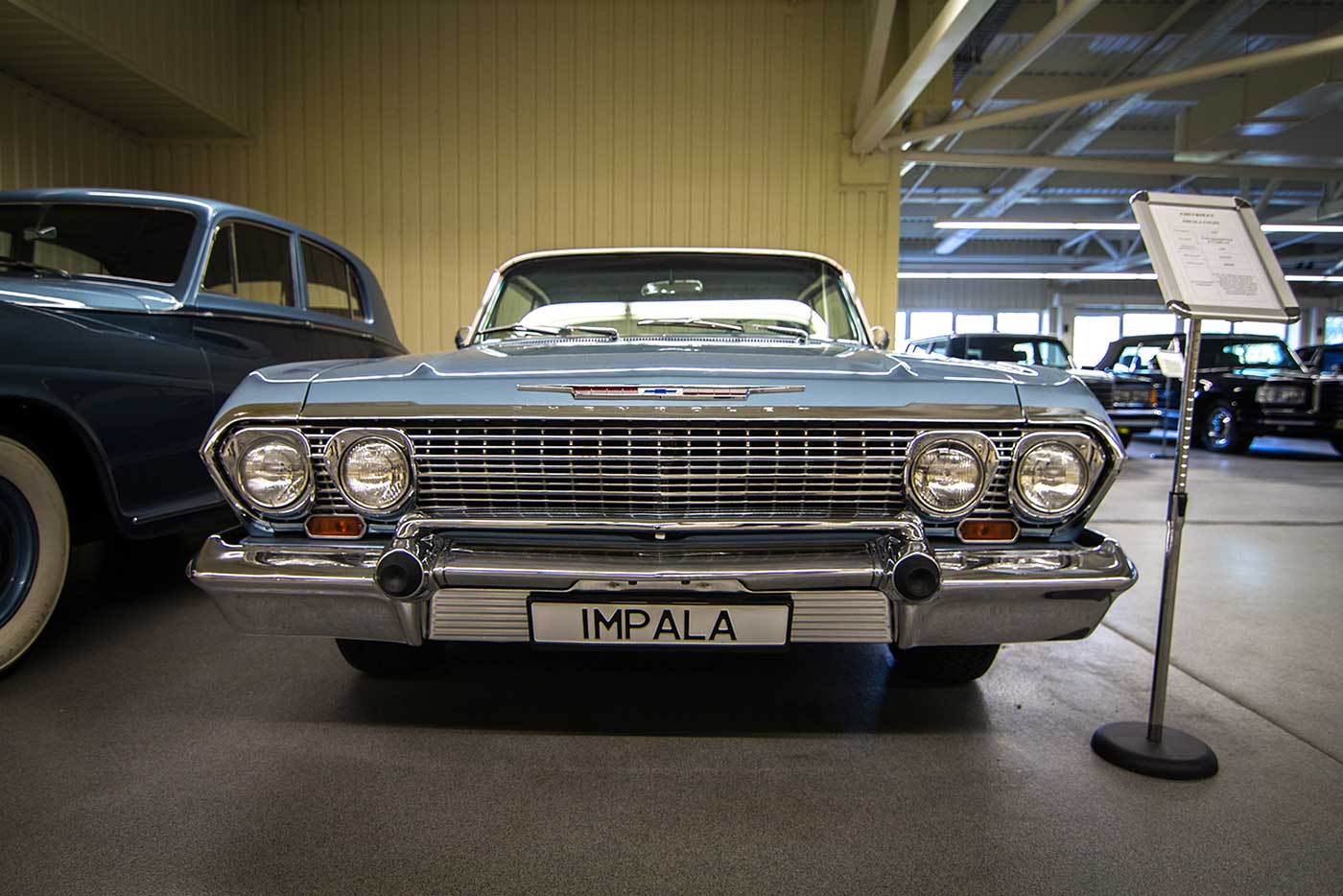 A Chevrolet Impala from Yanukovych's collection. Mezhyhirya, Ukraine.