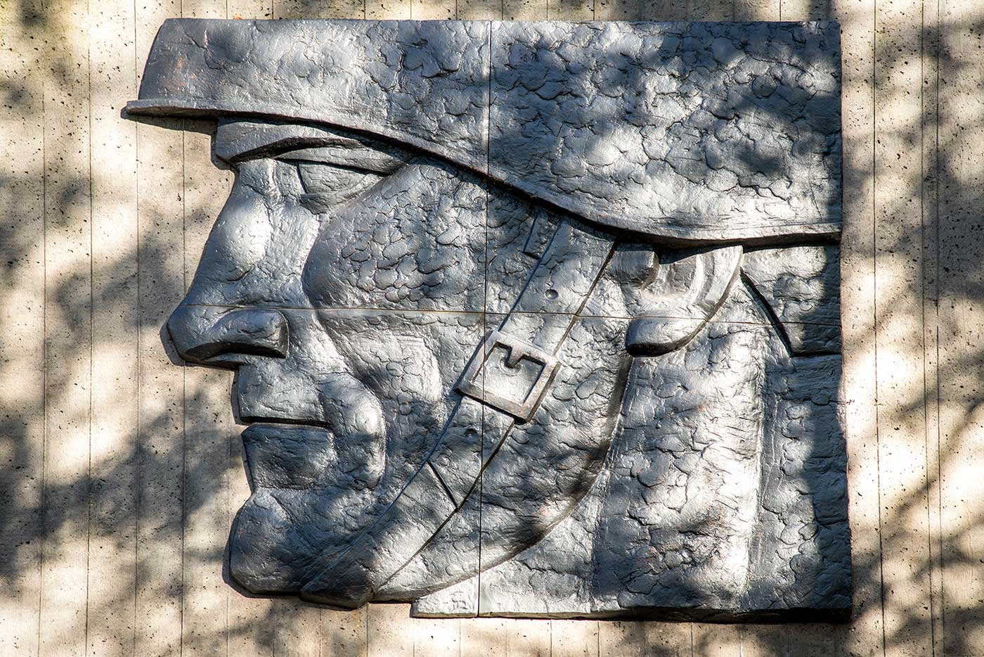 Soviet monument in Sillamäe, Estonia.